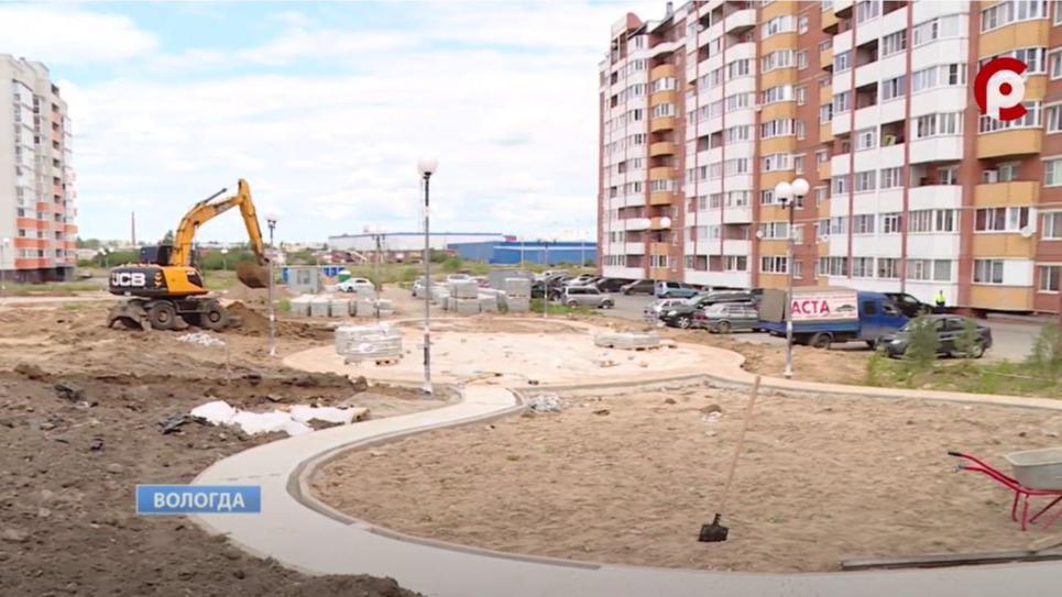 Строительство Рождественского парка в Вологде завершено на 65 процентов