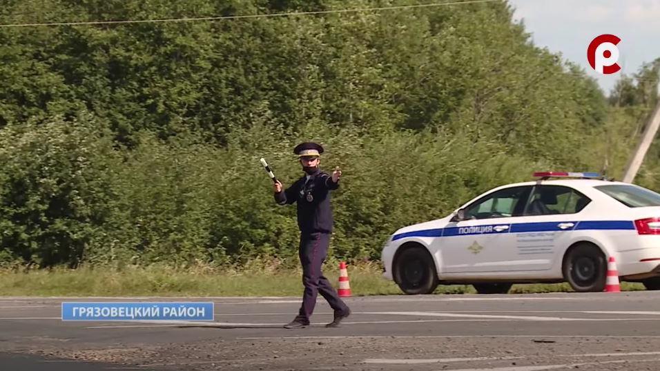 Десятки нарушений зафиксировали инспекторы ДПС в Грязовецком районе