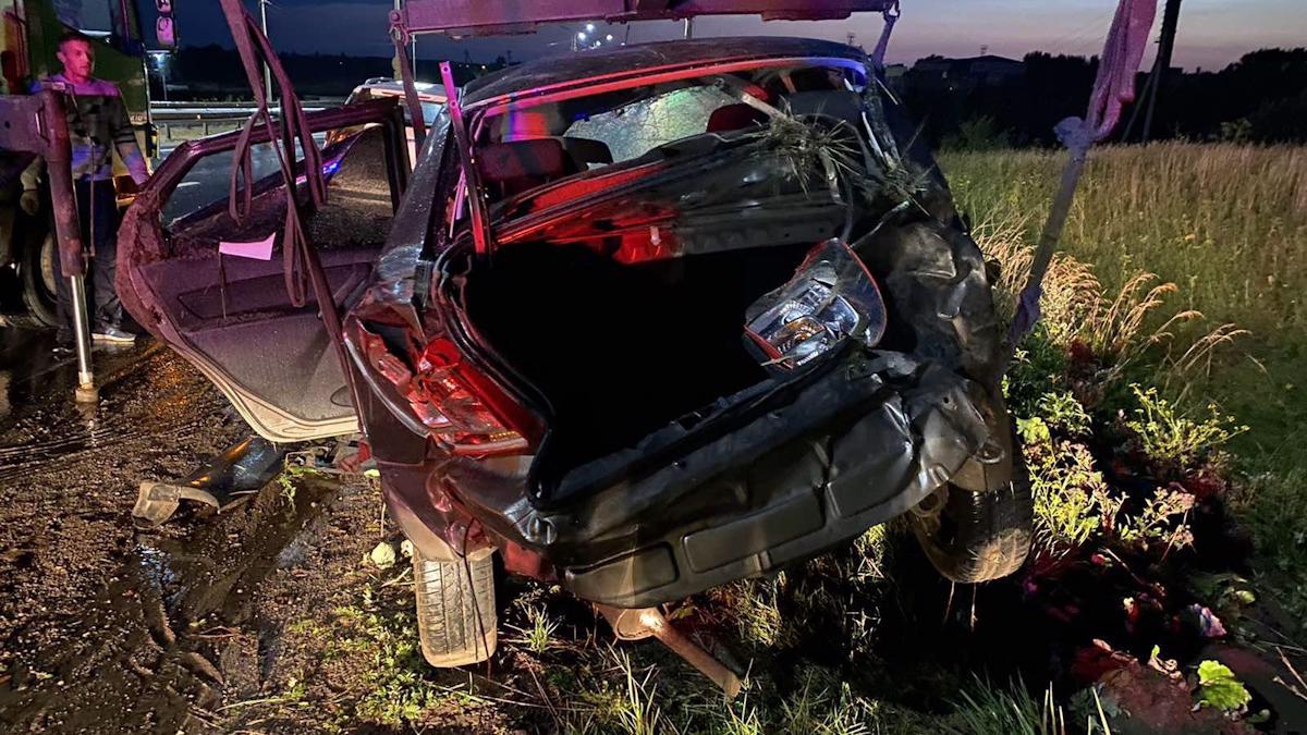 24-летняя девушка погибла в больнице после аварии под Череповцом