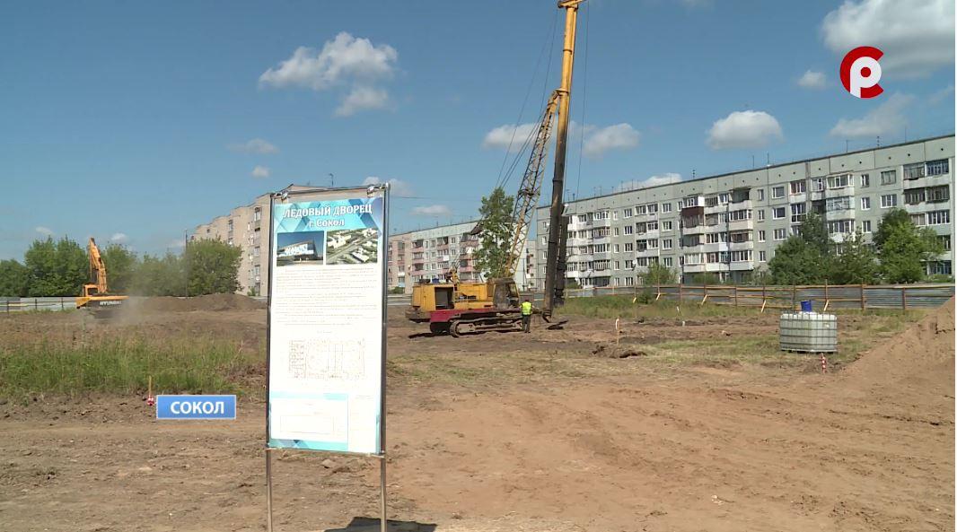 Завершить строительство дворца — десятого в области — планируют в сентябре 2022 года