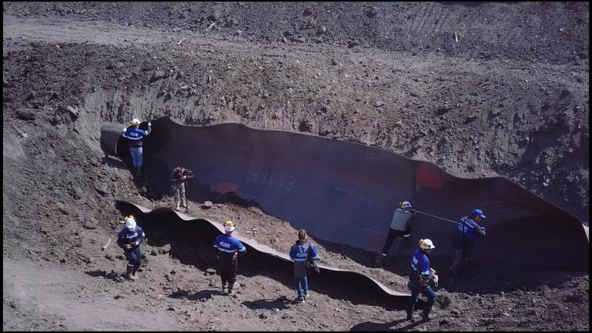 «Северсталь» успешно завершила испытания нового поколения труб большого диаметра для строительства магистральных газопроводов