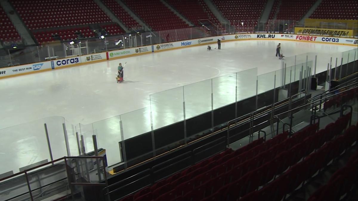 Череповецкий хоккей станет более зрелищным благодаря обновлённой площадке