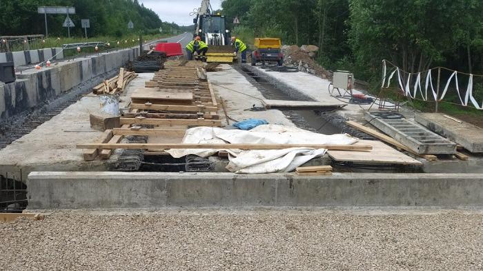 Ремонт моста через реку Чистовку стартовал в Череповецком районе