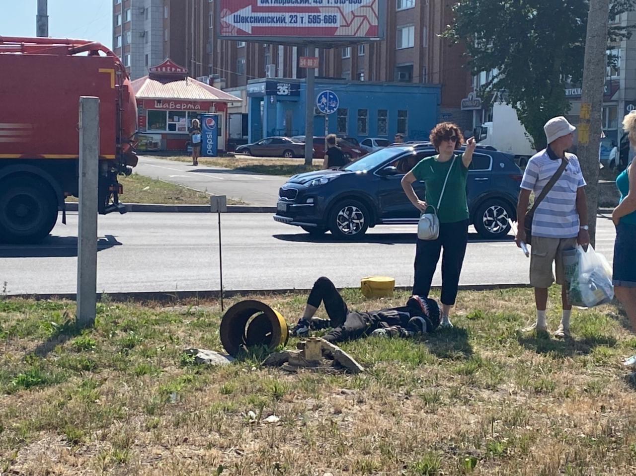 Мотоциклист пострадал в аварии в Череповце