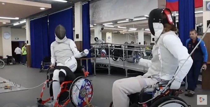 Александр Курзин представит страну в фехтовании на колясках