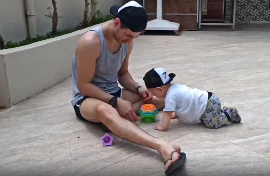 Реалии взрослой жизни не позволяют уделять сыну столько времени, сколько хотелось бы