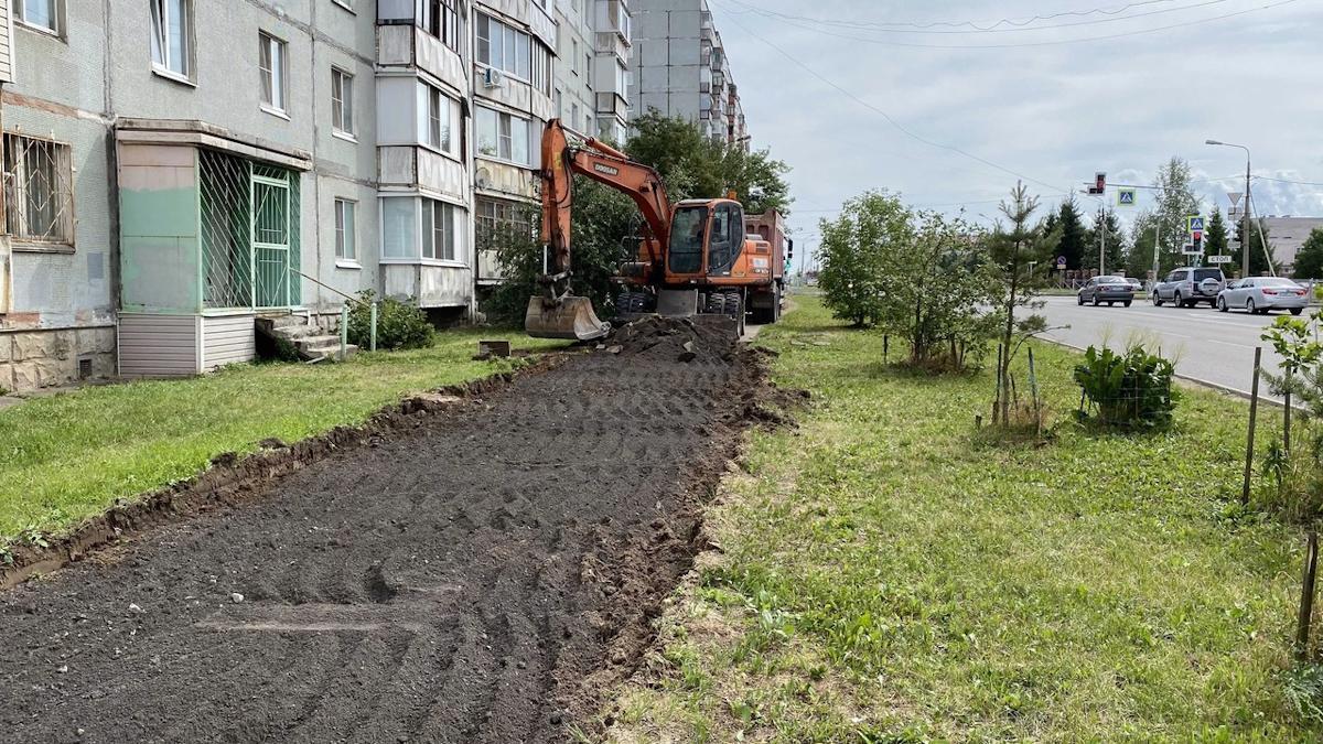 В Череповце начались масштабные ремонты тротуаров