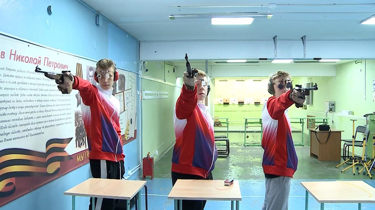 Череповчане успешно выступили на первенстве России по пулевой стрельбе