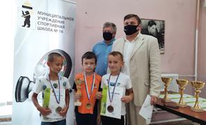 Череповецкий шахматист успешно выступает в детском Кубке России.