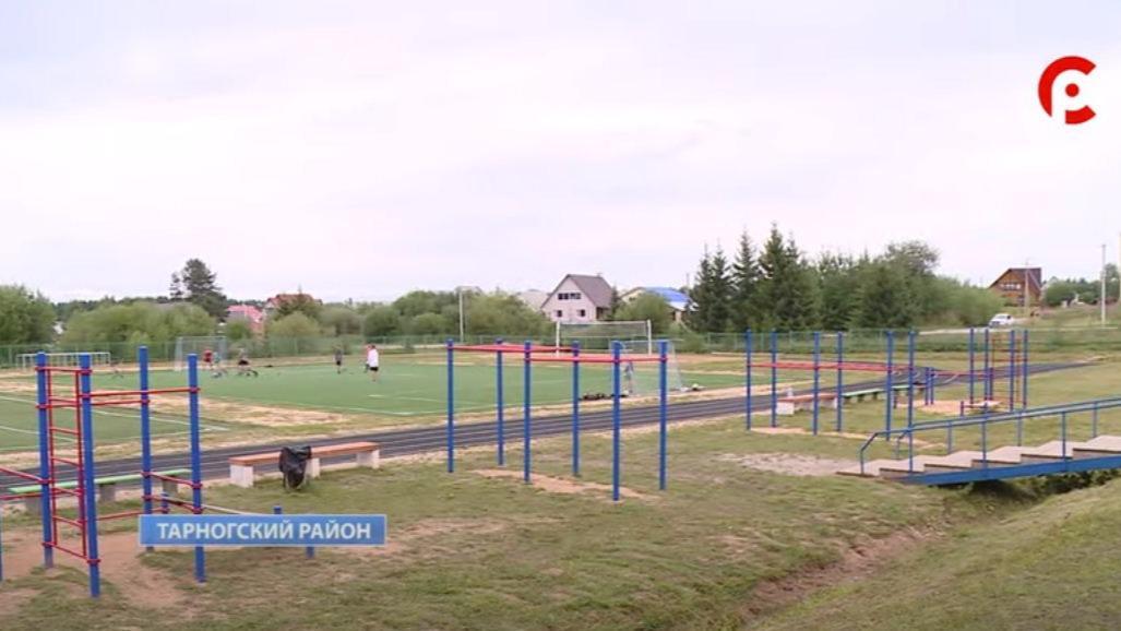 Тропа здоровья и новые тренажеры появятся в Тарногском Городке