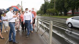 Мэр города Сергей Воропанов обсудил оптимизацию организации дорожного движения вместе с жителями
