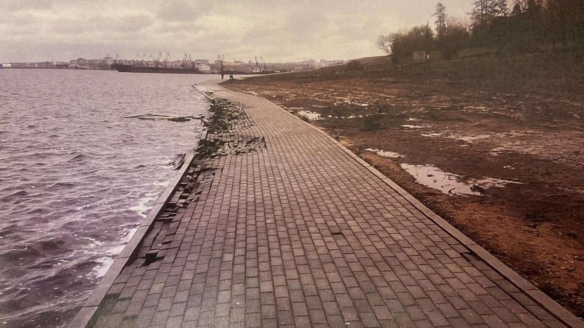 В Череповце подрядчик выиграл суд по делу о берегоукреплении на Усадьбе Гальских