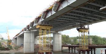 Зимой по мосту можно будет пройтись от одного берега к другому