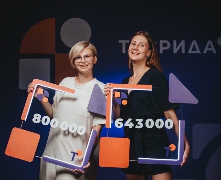 Ангелина Куликова выиграла грант в размере 800 тысяч рулей