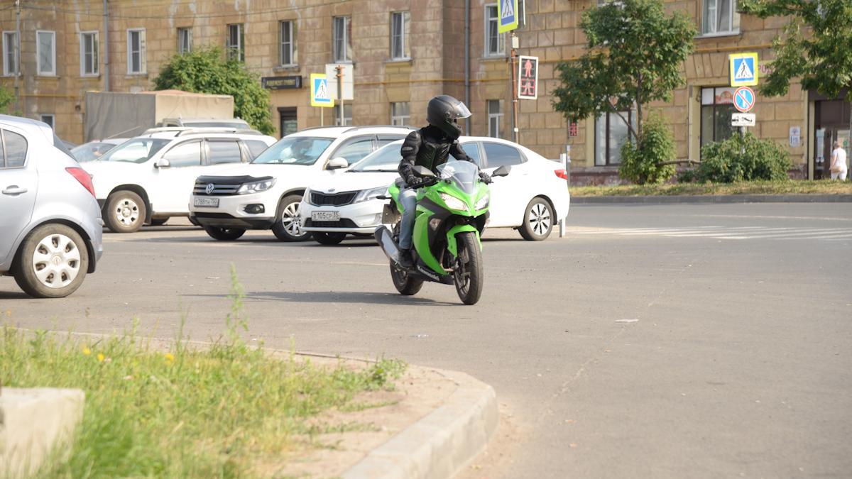 Накатался на мотоцикле на 5000 рублей