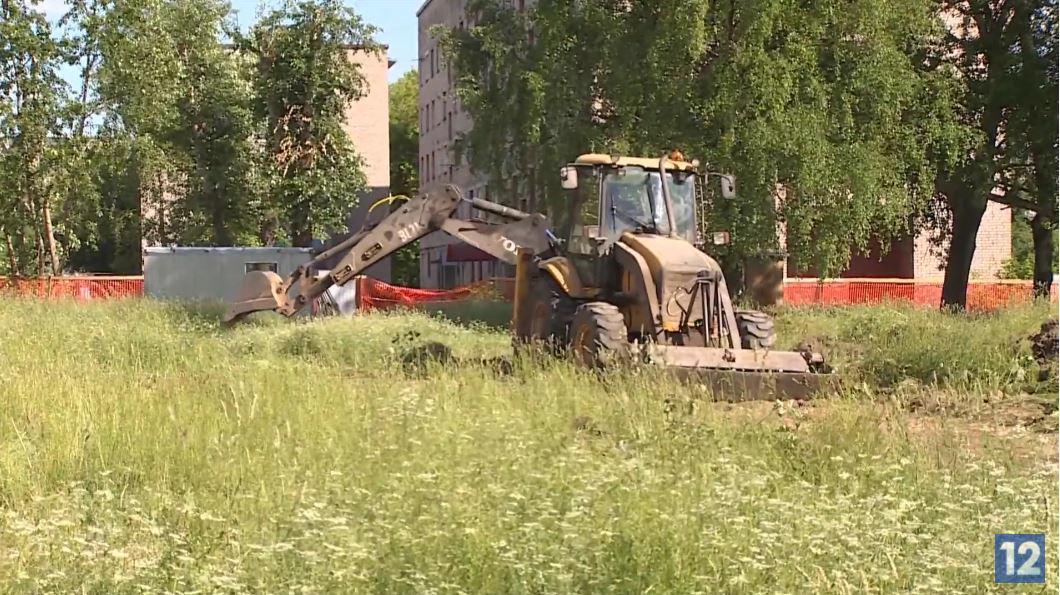 Строительство второй очереди коллектора для Северного района стартовало в Череповце
