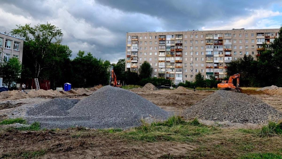 Строительство ФОКОТов началось в Череповце