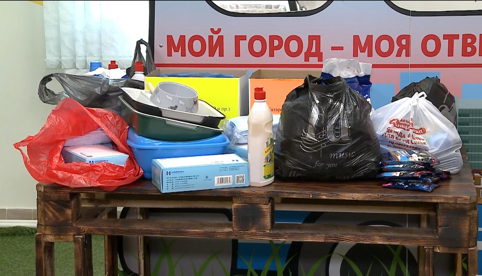 Больше недели в Череповце собирали корма, медикаменты и другие необходимые вещи