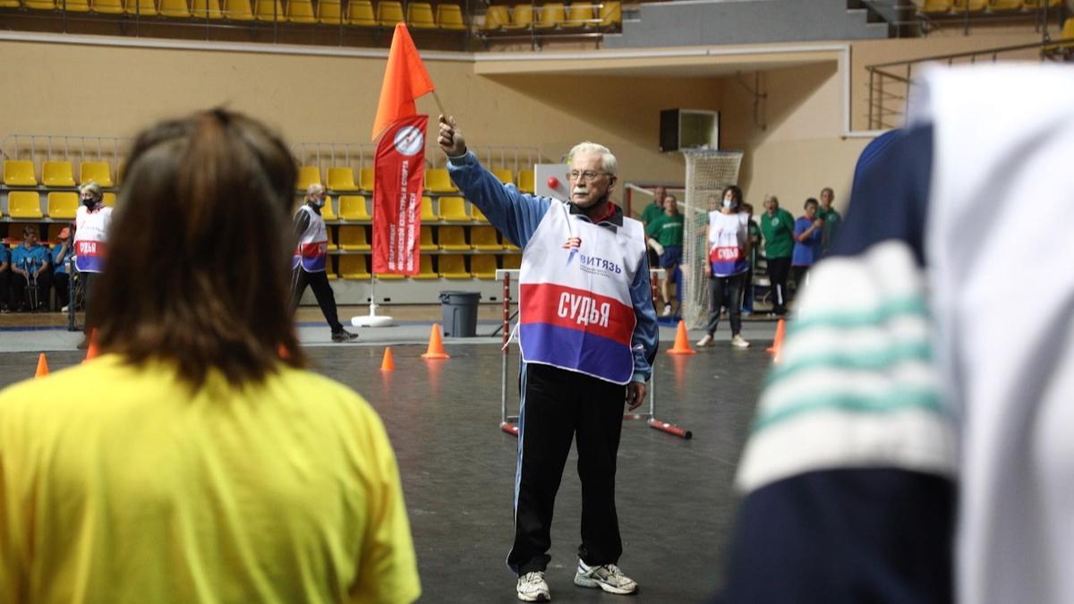 Пенсионеры Вологодчины соревновались за звание лучшего