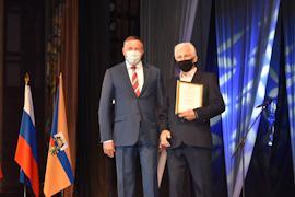 Финальным аккордом празднования Дня строителя стала торжественная церемония награждения лучших работников