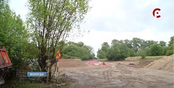 До конца этого года в парке должны построить первую в городе природную детскую площадку