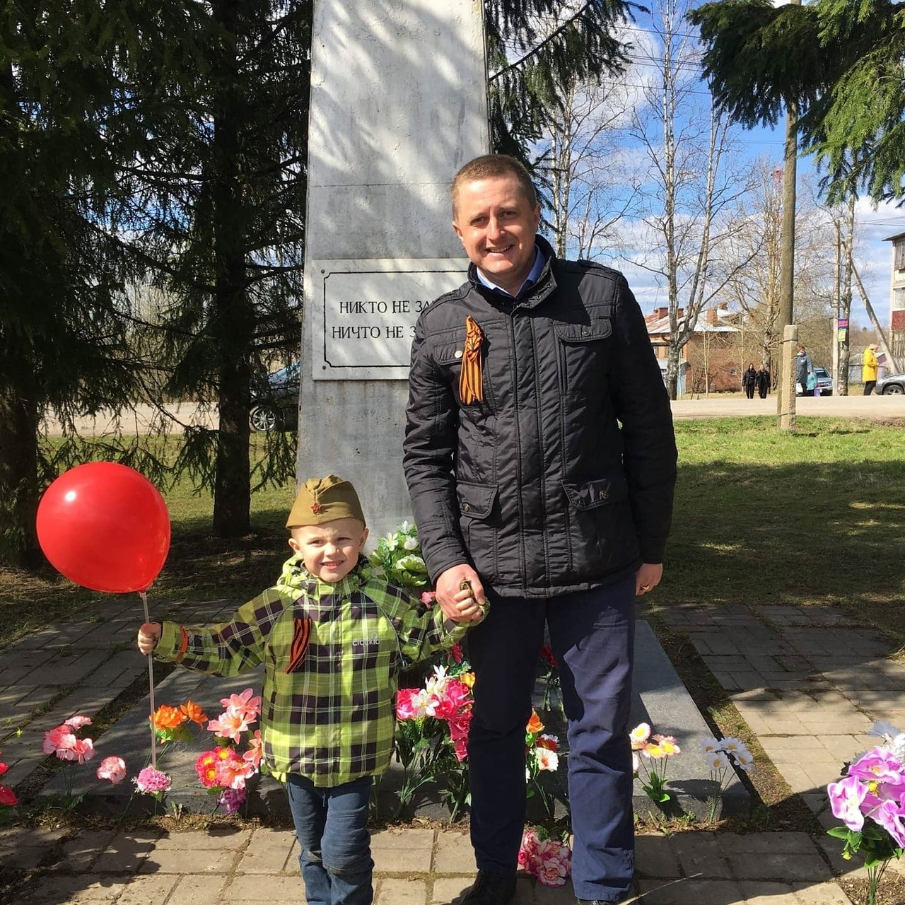 Илья Игнатьев с сыном Иваном