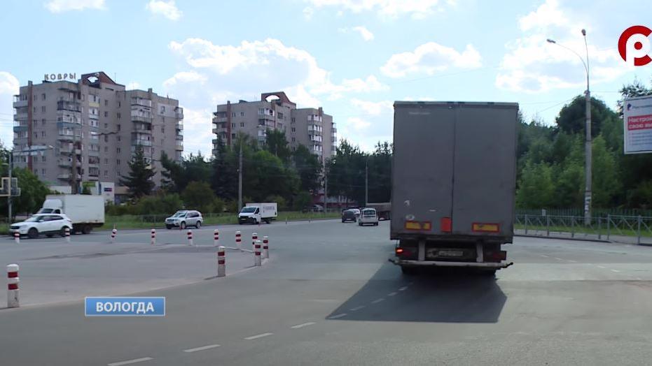 Кольцо на Конева в Вологде реконструируют уже осенью