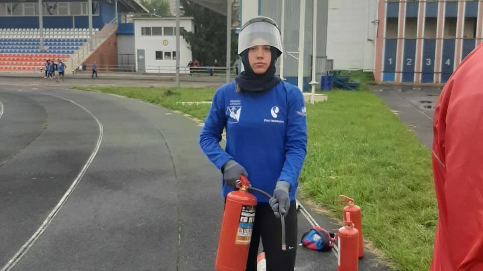 Вологжанка стала серебряным призёром Чемпионата мира по пожарно-спасательному спорту