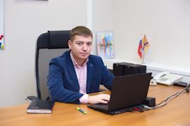 """Андрей Лужинский: """"Программа является нашей собственной разработкой""""."""