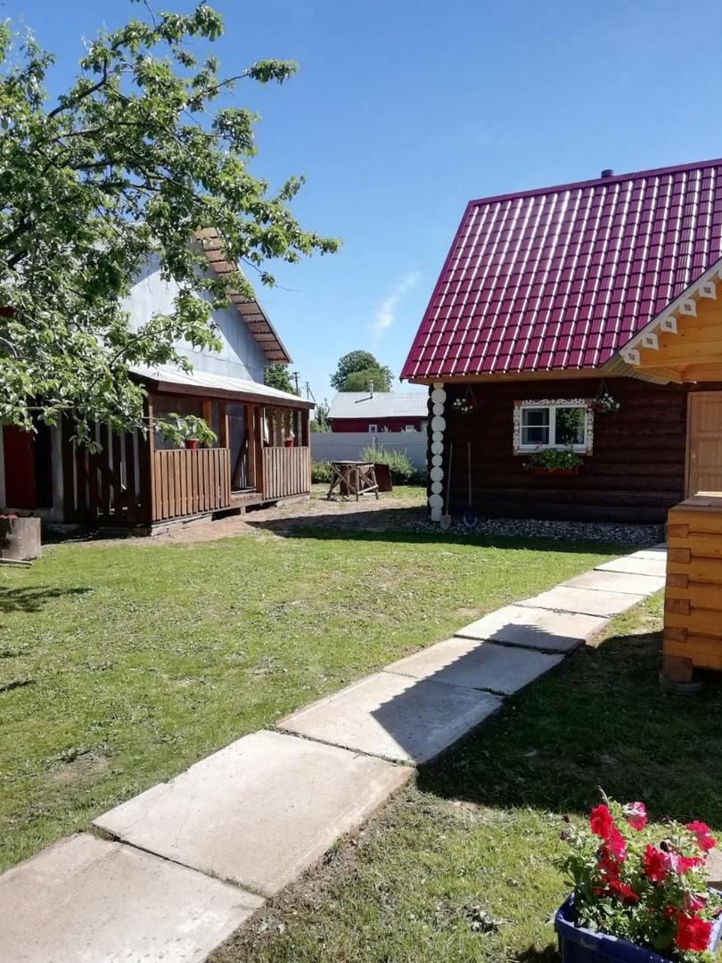 На этой земле в деревне Заручевье когда-то стоял дом прапрадеда Ильи Игнатьева.