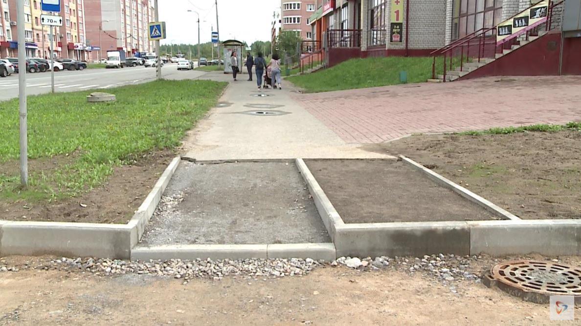 Первый в этом году межквартальный проезд строят на улице Ленинградской в Череповце