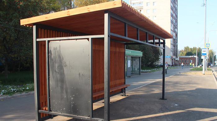 45 автобусных остановок построят в Череповце в этом году
