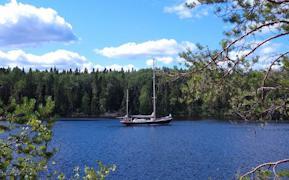 В яхте сохранены дух и настроение эпохи