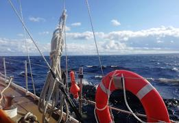 Экипаж яхты постоянно ищет единомышленников