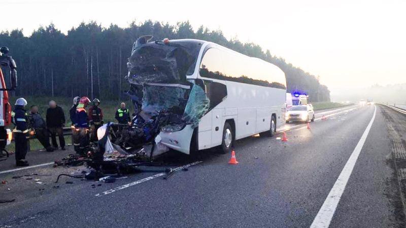 Вологодский автобус разбился во Владимирской области, пострадали 22 человека