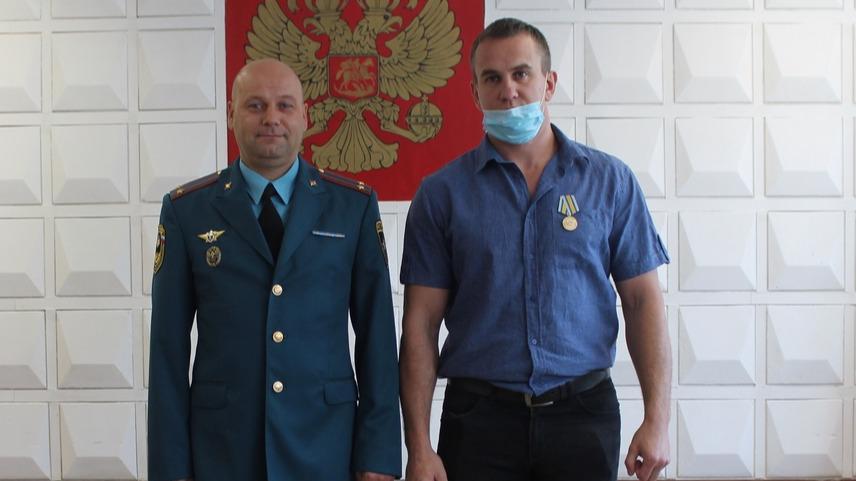 За спасение двух человек устюжанин удостоился высокой награды