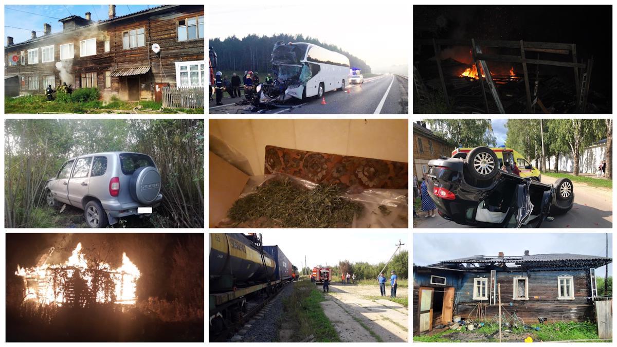 Самые громкие происшествия в Вологодской области
