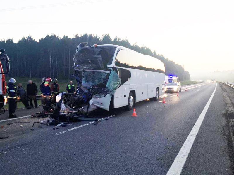 Вологодский автобус разбился во Владимирской области