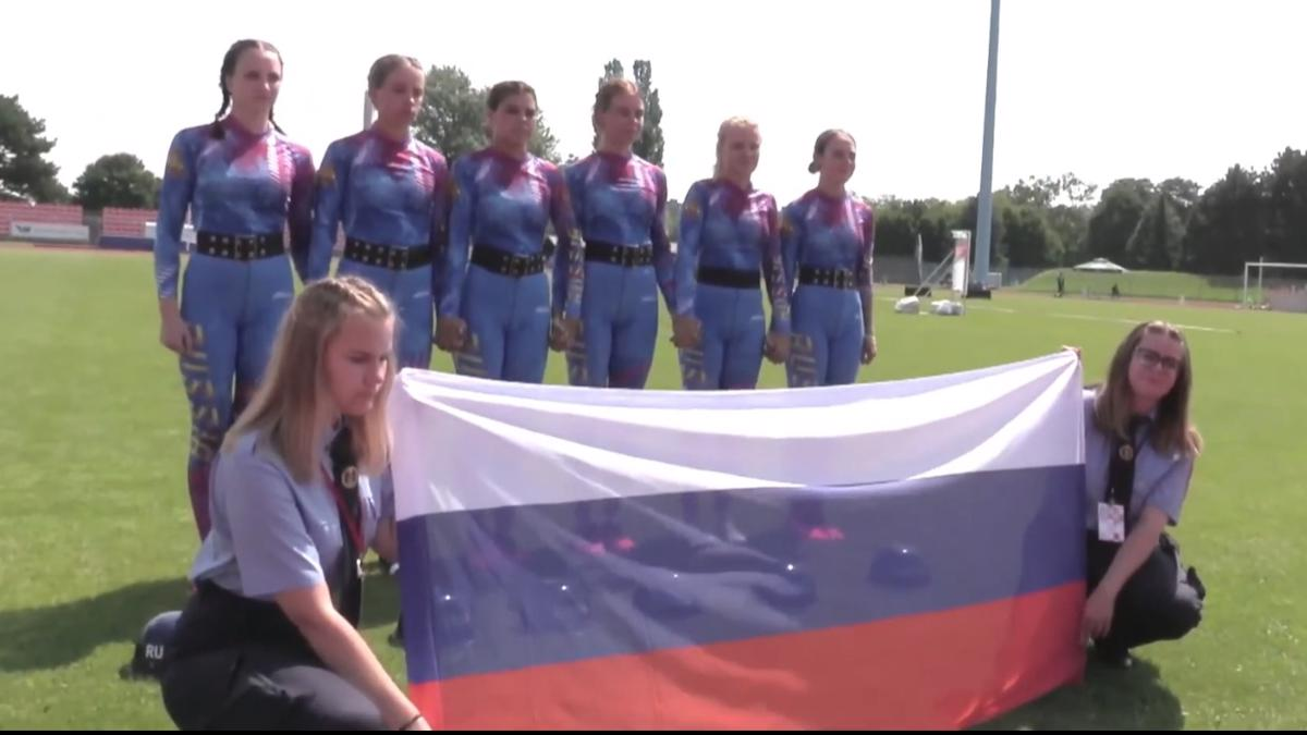 В заключительный день чемпионата по пожарно-спасательному спорту у россиян - серебро