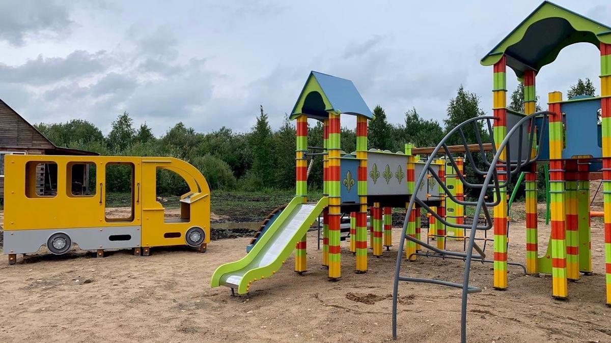 На 14 объектах, реализуемых по программе «Народный бюджет ТОС» завершены работы в Вологде