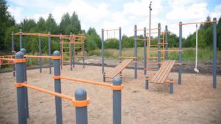 Накануне прошла приемка спортивной площадки вблизи де��ского сада №50 «Ландыш»