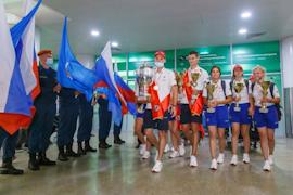 Всего в копилке юношеских сборных России по пожарно-спасательному спорту 22 награды