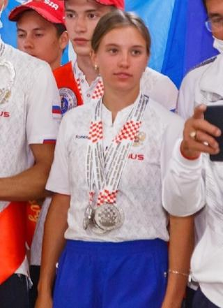 В составе сборной - вологжанка Дарья Лобанова