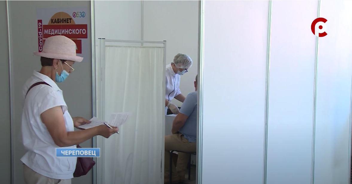 Медики ждут на прививку череповчан старше 60 лет