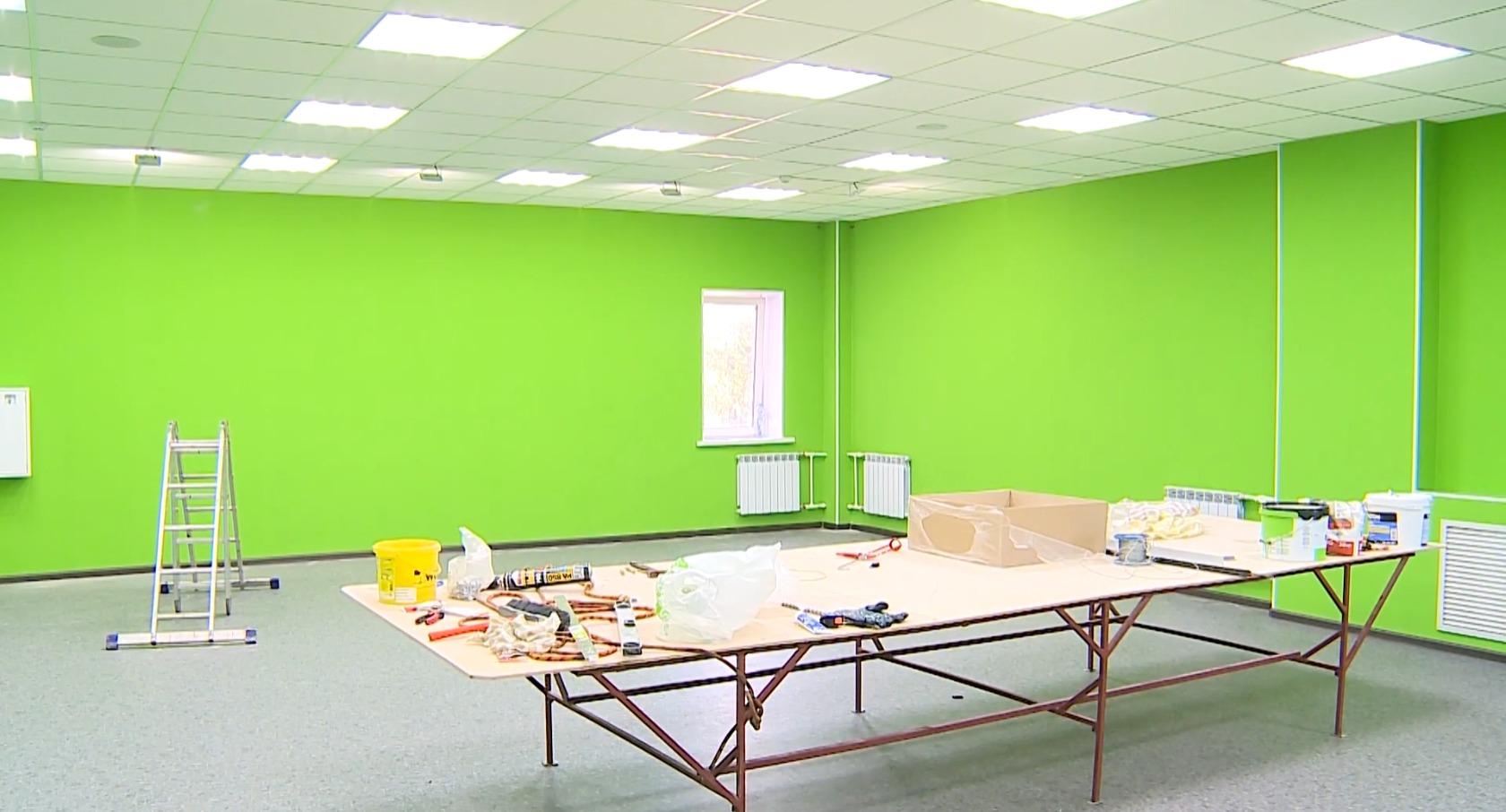 В новом помещении будут класс для уроков и тир