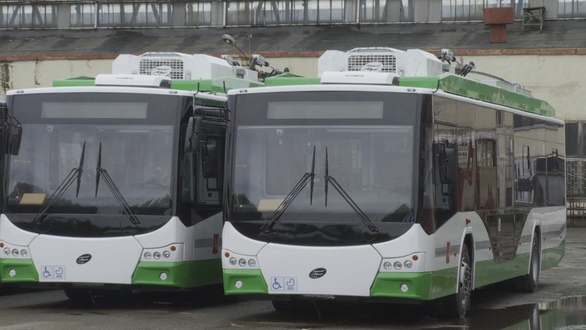 Три новых троллейбуса выходят 18 августа на тестовые маршруты в Вологде