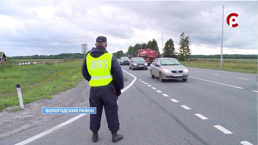 Только за один день сотрудники ГИБДД на дорогах Вологодчины выявили 50 непристегнутых водителей и пассажиров