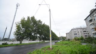 Сдача в эксплуатацию и включение новых фонарей по контракту на этом участке назначена на конец августа