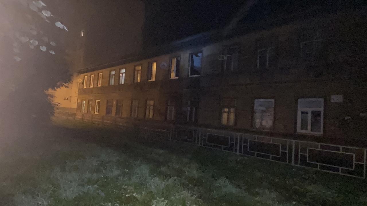 Возгорание произошло в двухэтажном доме