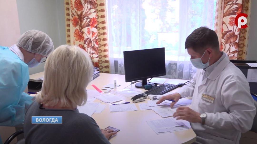 Два специальных пункта вакцинации для тех, кто старше 60 лет, открыли в Вологде и Череповце
